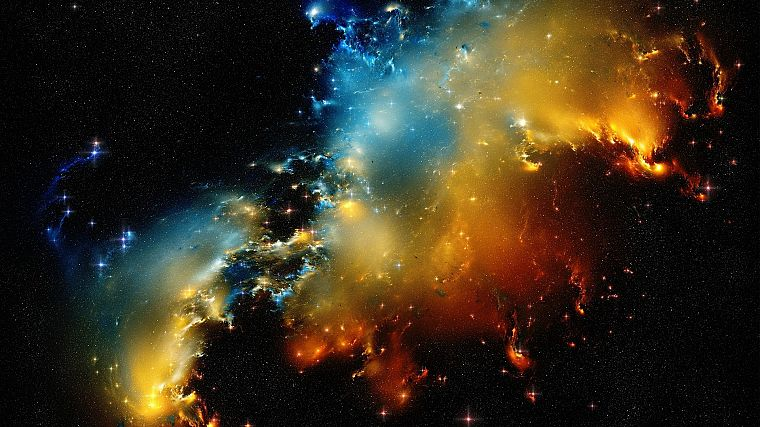 nature, outer space, stars, galaxies, nebulae, space - desktop wallpaper