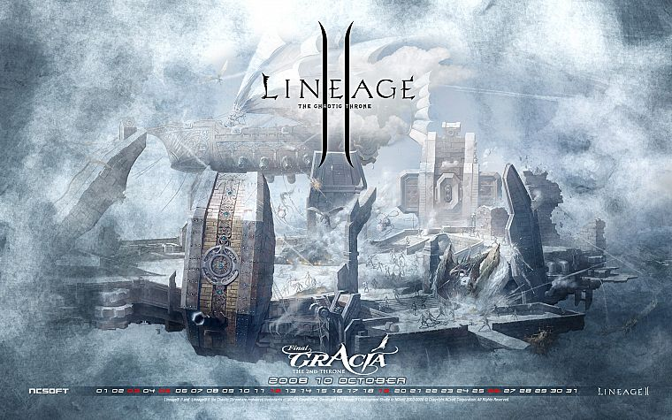 video games, Lineage - desktop wallpaper
