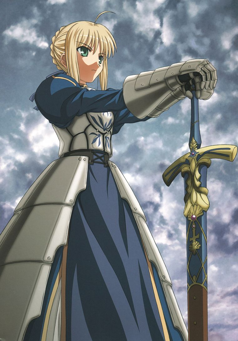 Fate Stay Night Type Moon Saber Fate Series Free Wallpaper