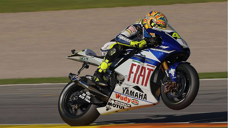 bikes, vehicles, Moto GP, motorbikes, wheelie, Valentino Rossi - desktop wallpaper