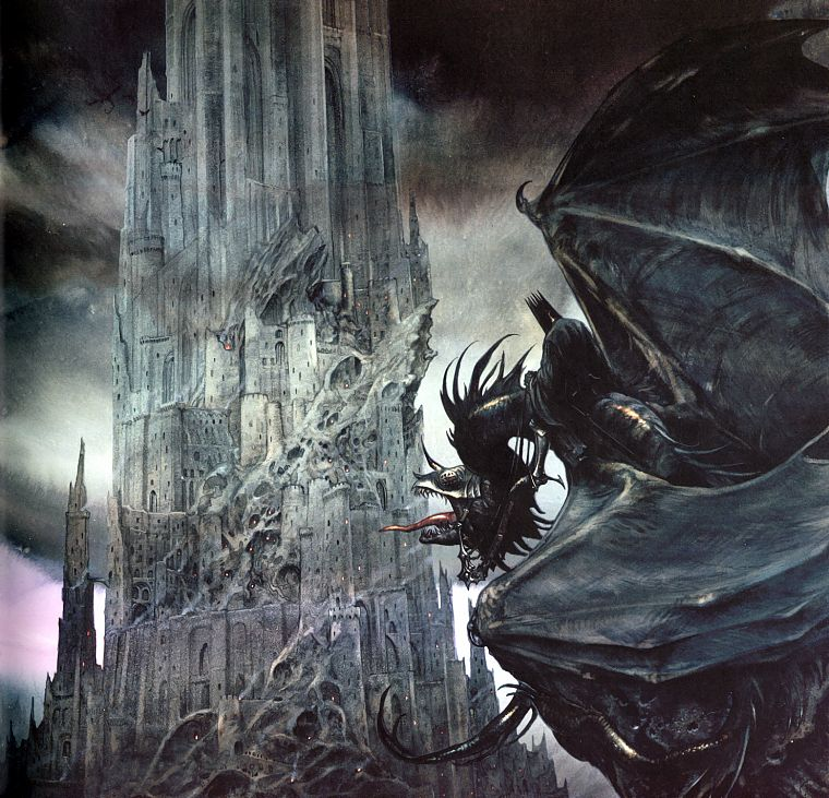 Minas Tirith The Lord Of The Rings Gondor The Witch King