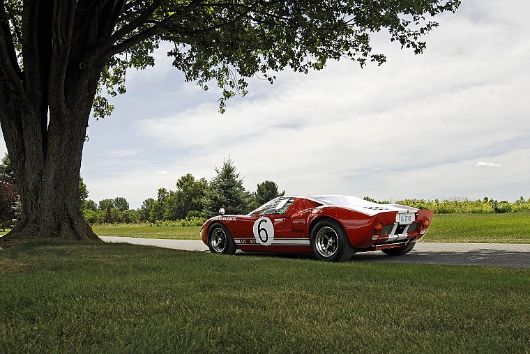 cars, Ford, Ford GT40 - desktop wallpaper
