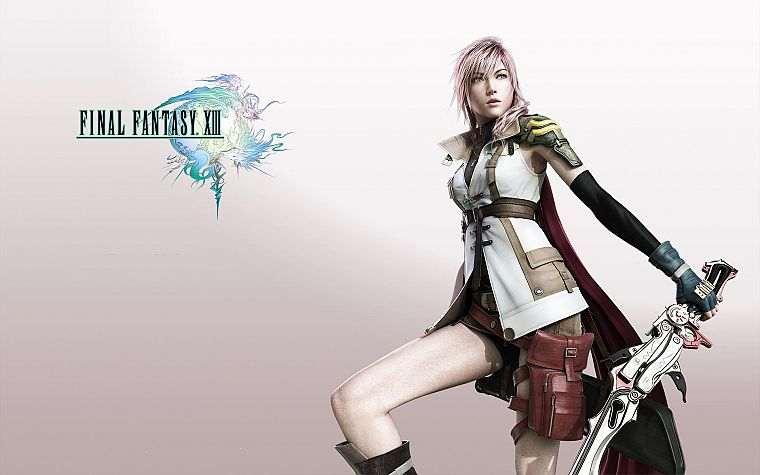 Final Fantasy XIII, Claire Farron - desktop wallpaper