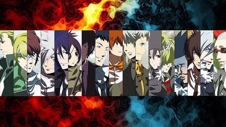 Katekyo Hitman Reborn Characters Anime Panels Free Wallpaper