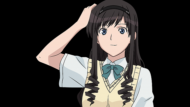 school uniforms, transparent, Amagami SS, Morishima Haruka, anime, anime vectors - desktop wallpaper