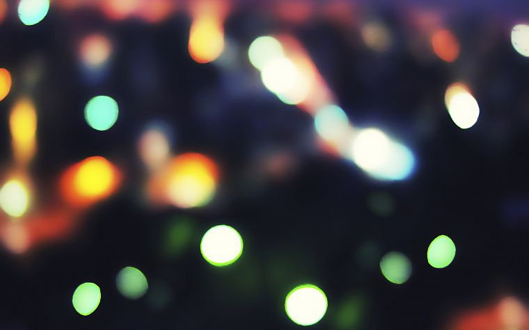 abstract, bokeh, gaussian blur, blurred - desktop wallpaper