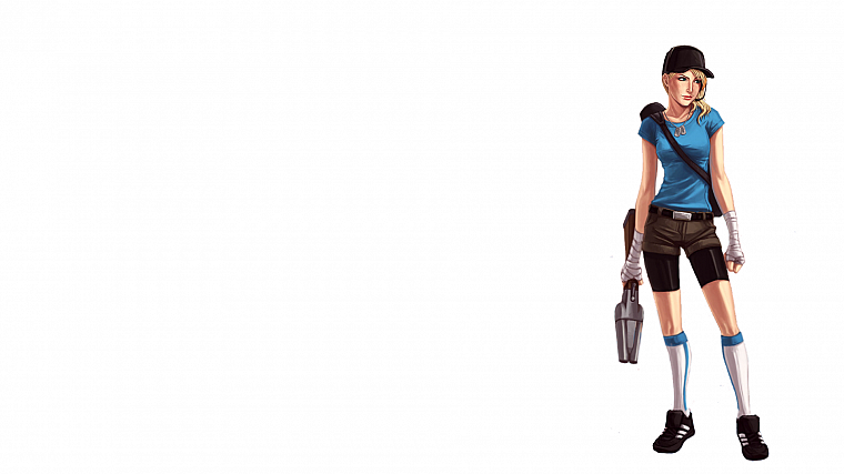 women, Scout TF2, Team Fortress 2 - desktop wallpaper