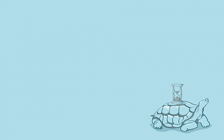 minimalistic, turtles, simple background - desktop wallpaper