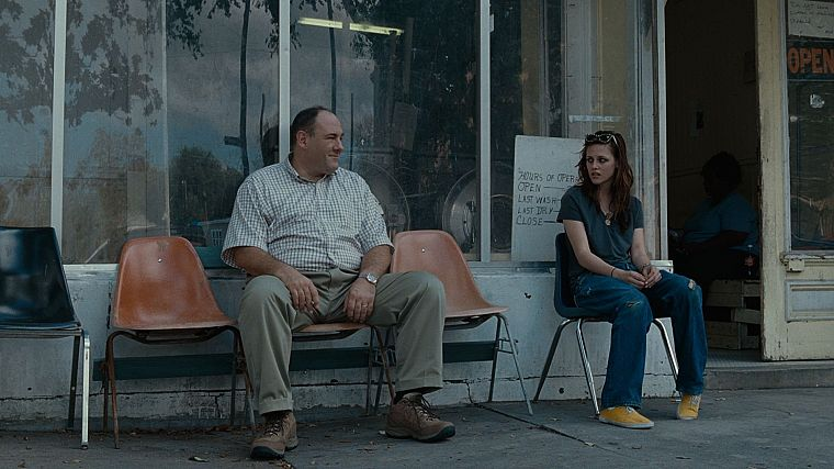 Kristen Stewart, James Gandolfini - desktop wallpaper