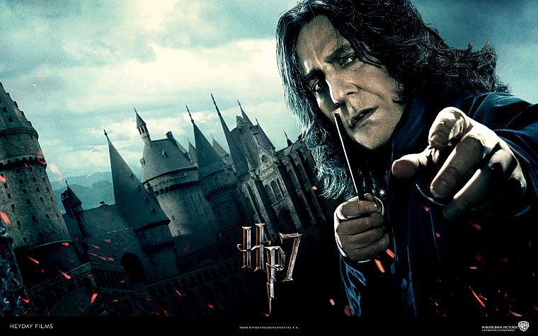movies, Harry Potter, Harry Potter and the Deathly Hallows, Alan Rickman, Severus Snape - desktop wallpaper