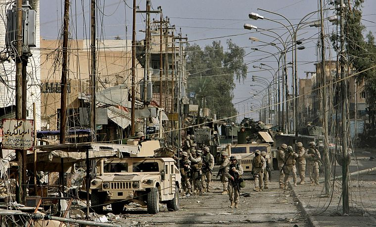 soldiers, army, military, Iraq, Humvee, Hummer H1 - desktop wallpaper
