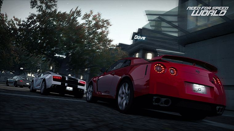 video games, cars, Lamborghini Gallardo, Need for Speed World, games, JDM Japanese domestic market, Nissan GT-R, pc games - desktop wallpaper