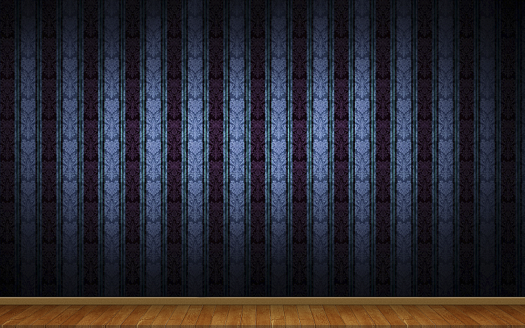 3D view, minimalistic, wall, patterns - desktop wallpaper