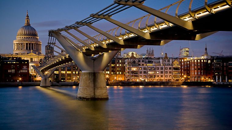 cityscapes, architecture, bridges, urban, buildings - desktop wallpaper