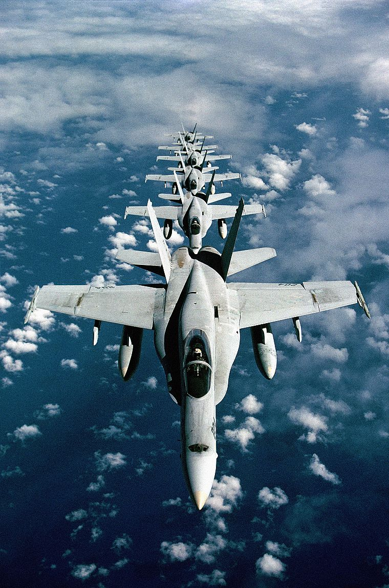 aircraft, military, planes, vehicles, F-18 Hornet - desktop wallpaper