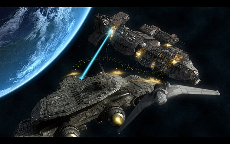 Stargate, Daedalus, spaceships, vehicles - desktop wallpaper