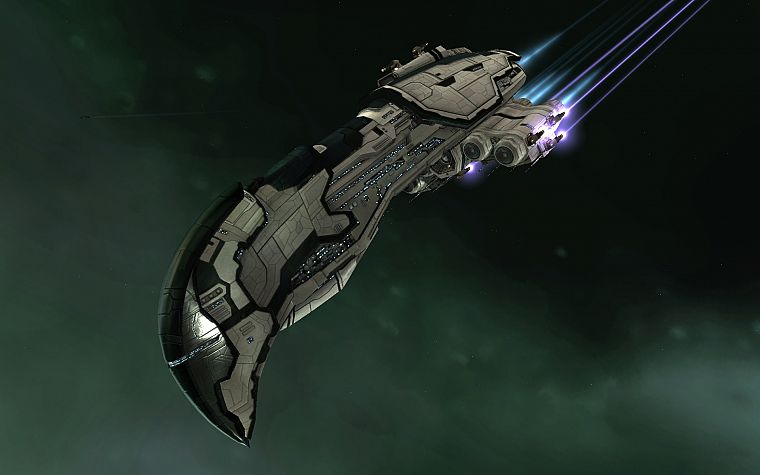 EVE Online, amarr, zealot - desktop wallpaper