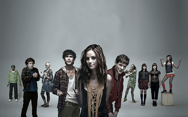 Skins (TV), Kaya Scodelario - desktop wallpaper