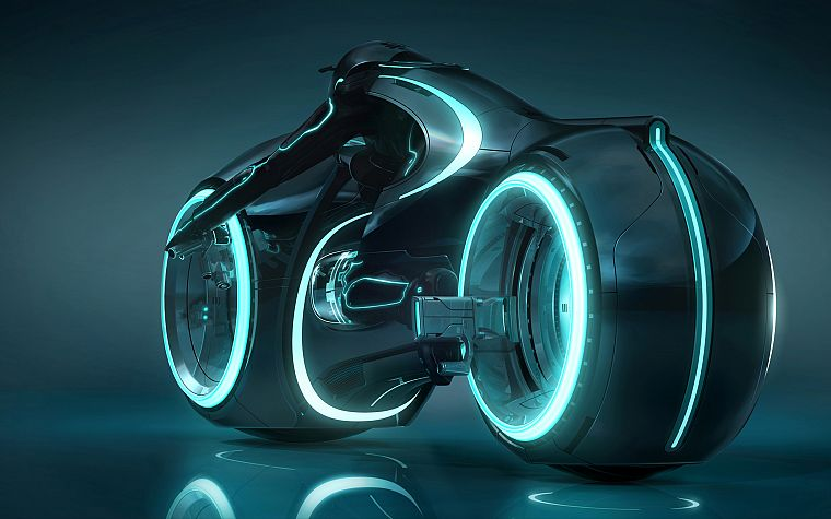 Tron, Tron Legacy, lightcycle - desktop wallpaper