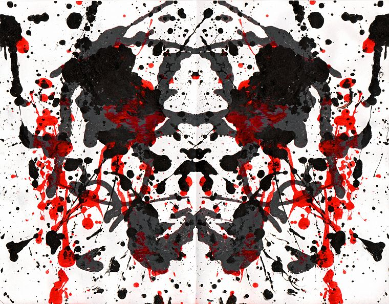 Rorschach test - Free Wallpaper