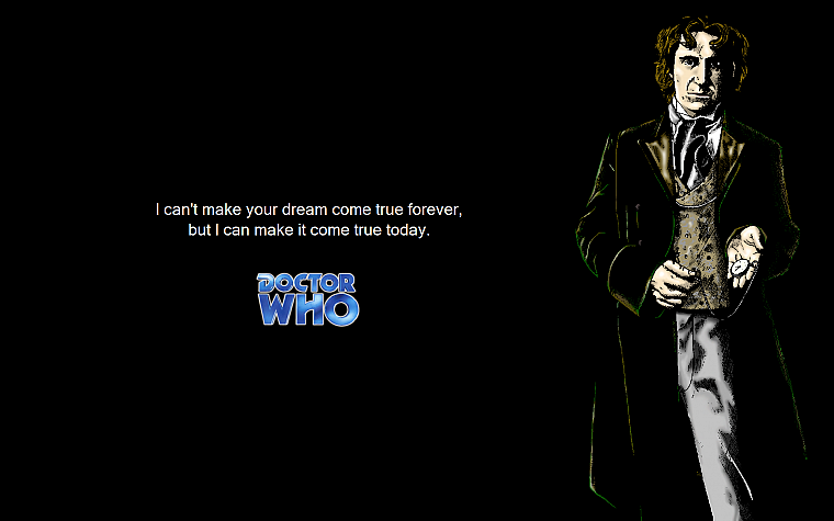 quotes, Paul McGann, Doctor Who, Eighth Doctor - desktop wallpaper