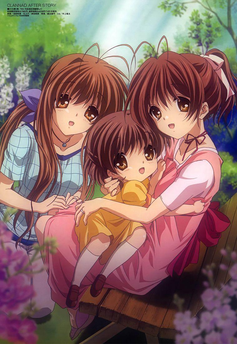 Family Clannad After Story Furukawa Nagisa Okazaki Ushio Free Wallpaper Wallpaperjam Com