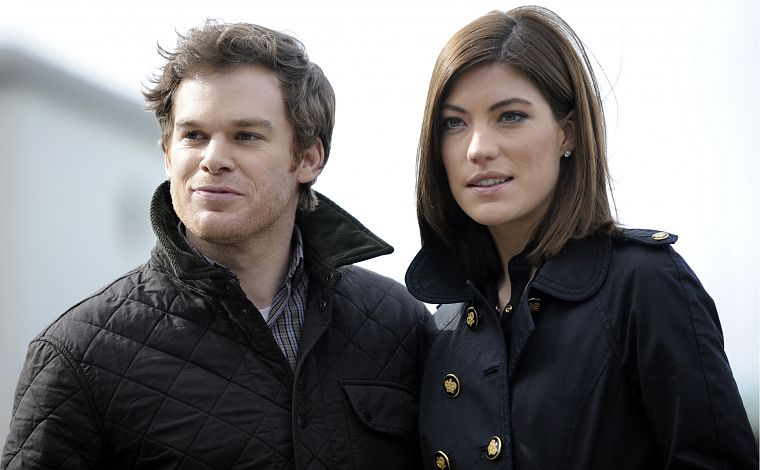 Jennifer Carpenter, Michael C. Hall - desktop wallpaper