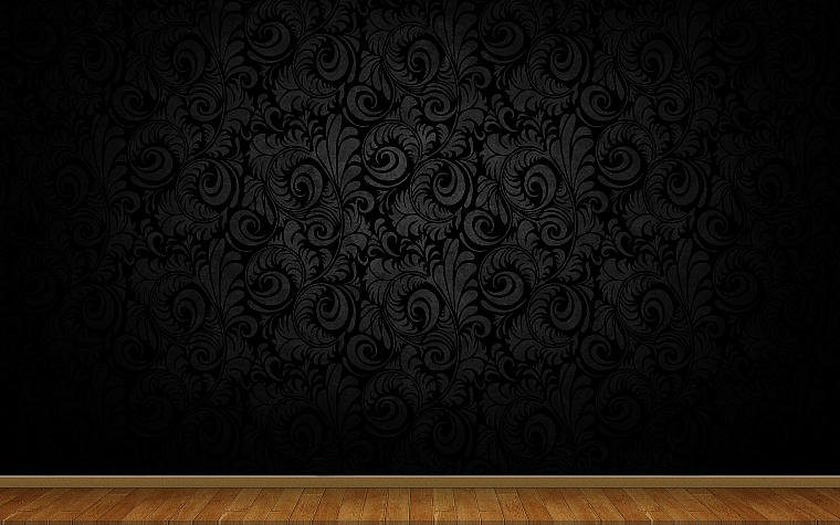 floor, 3D view, abstract, minimalistic, dark, wood, patterns, wood floor - desktop wallpaper
