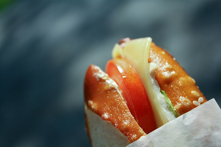 sandwiches, food, tomatoes - desktop wallpaper