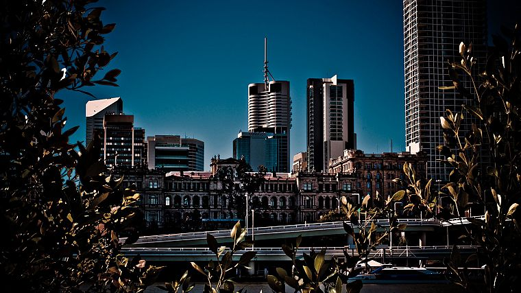 cityscapes, buildings, brisbane, Australia - desktop wallpaper