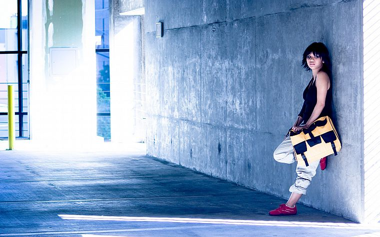 cosplay, faith, Mirrors Edge, Faith Connors - desktop wallpaper