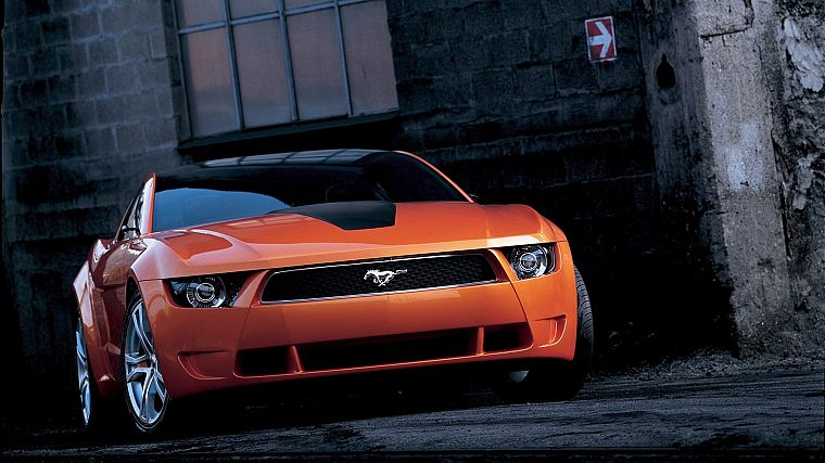 cars, muscle cars, vehicles, Ford Mustang, Ford Mustang Giugiaro - desktop wallpaper
