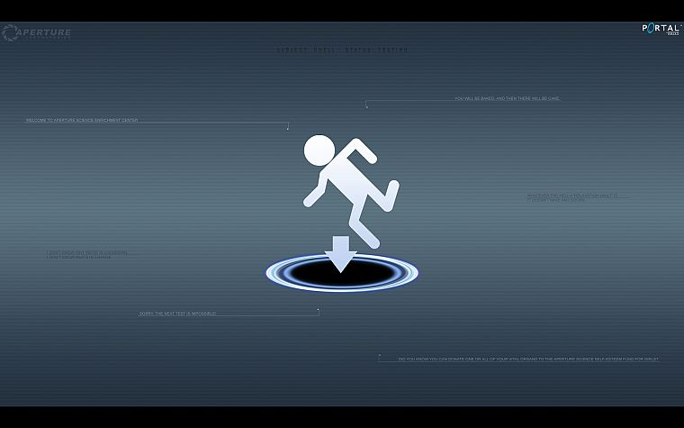 Portal - desktop wallpaper
