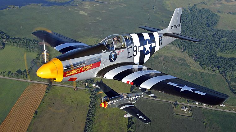 aircraft, military, World War II, Warbird, fighters - desktop wallpaper
