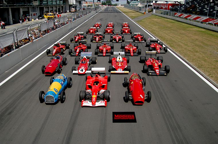 cars, Ferrari, Formula One, vehicles, race tracks - desktop wallpaper