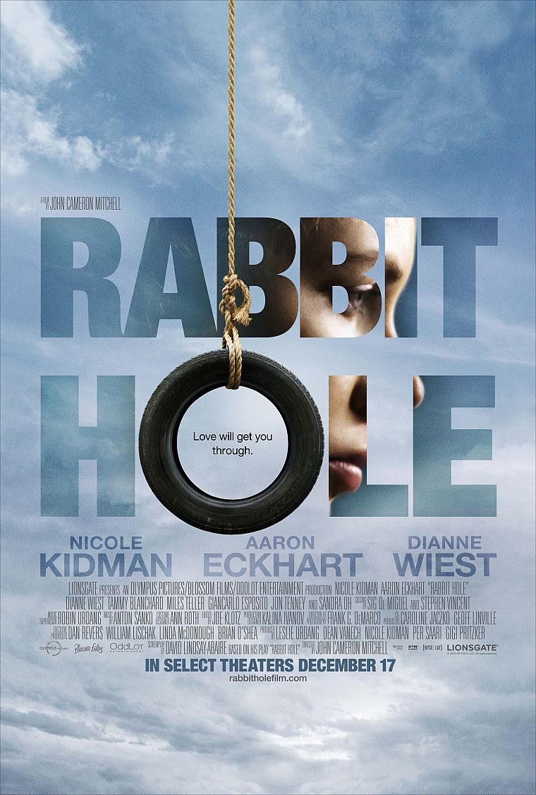 Nicole Kidman, Aaron Eckhart, movie posters, car tires, Rabbit Hole - desktop wallpaper
