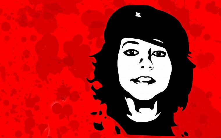 Boxxy, Che Guevara, crossovers - desktop wallpaper
