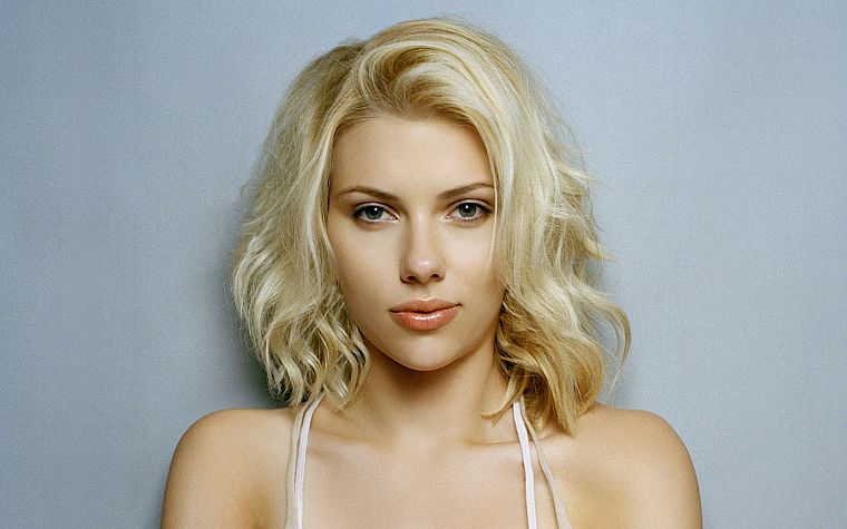 blondes, women, Scarlett Johansson, actress, celebrity - desktop wallpaper