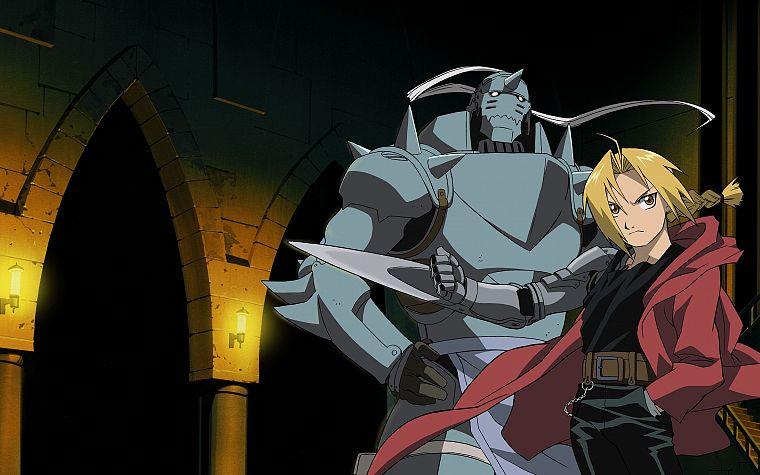 Fullmetal Alchemist Elric Alphonse Edward