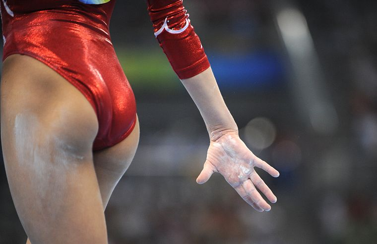ass, Shawn Johnson, gymnastics - desktop wallpaper