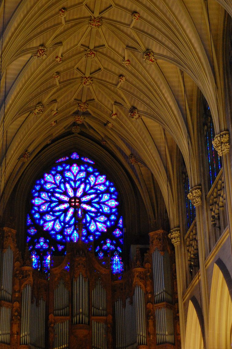 architecture, churches, stained glass - desktop wallpaper