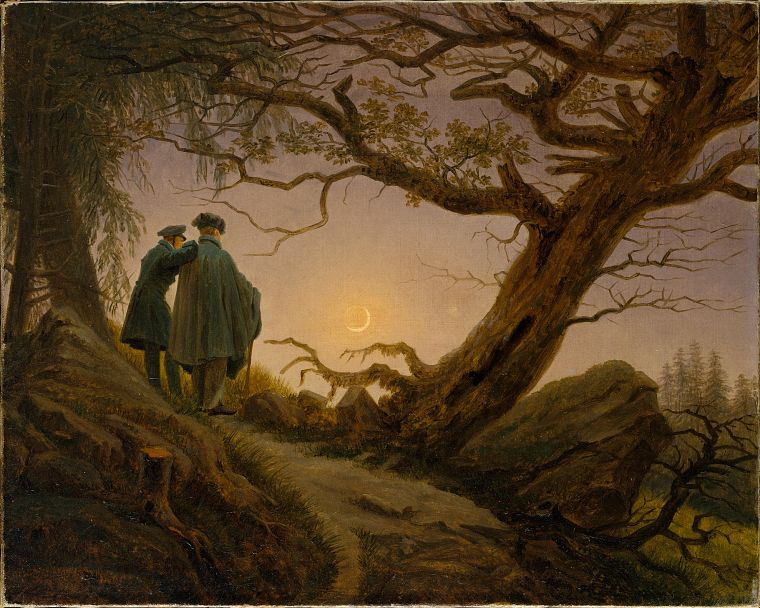 artwork, Caspar David Friedrich - desktop wallpaper