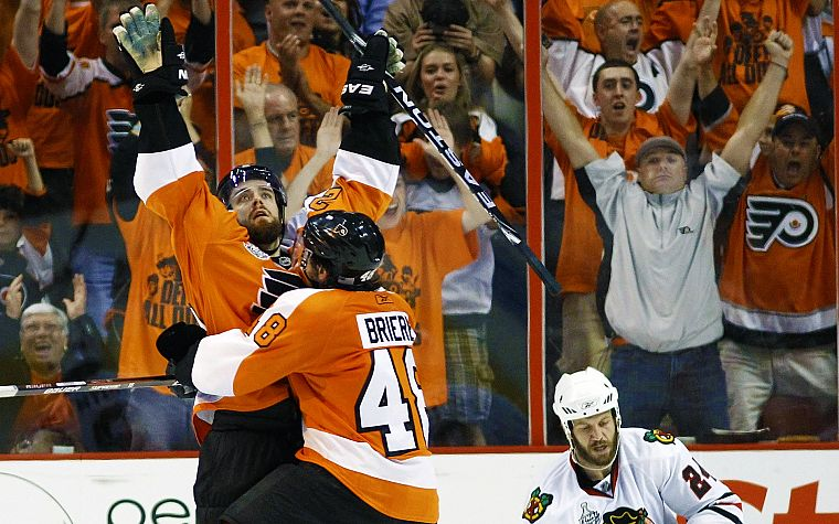 hockey, NHL, Philadelphia Flyers, icehockey, Danny Briere - desktop wallpaper