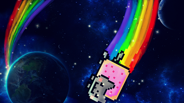 Nyan Cat - desktop wallpaper