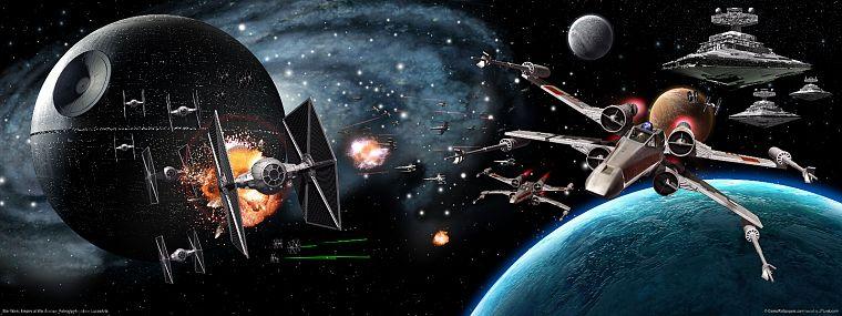 Star Wars Death X Wing Tie Fighters Destroyers