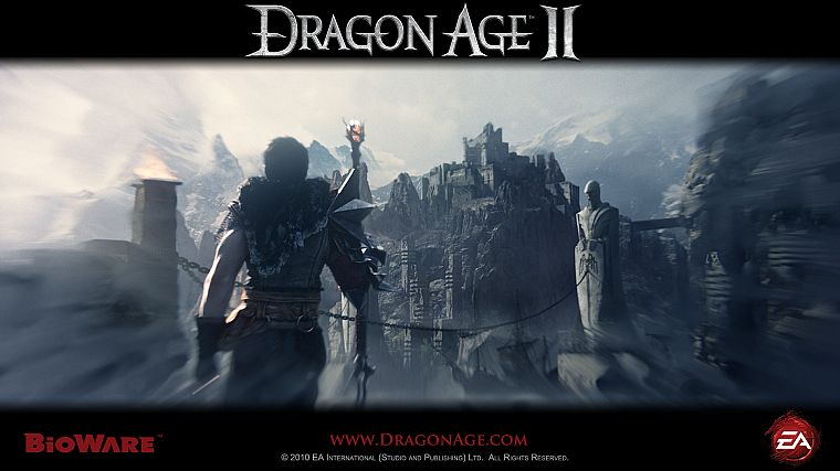 video games, Dragon Age, Dragon Age 2 - desktop wallpaper