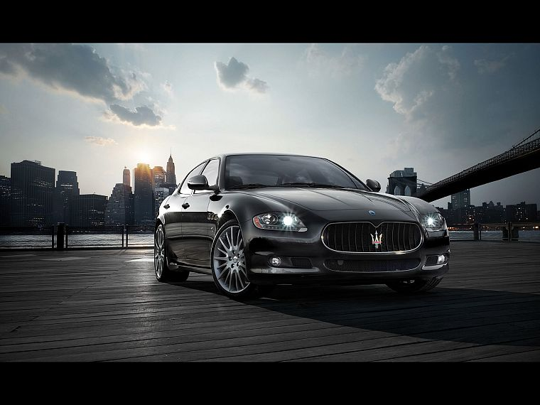cars, Maserati, vehicles - desktop wallpaper