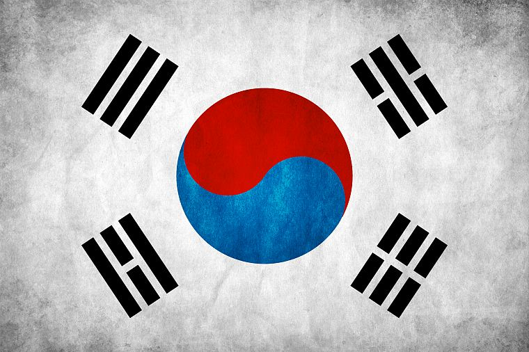 flags, Korea, South Korea, flag of korea - desktop wallpaper
