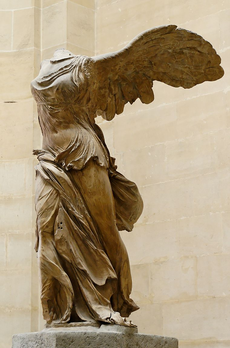 winged Victory of Samothrace - desktop wallpaper