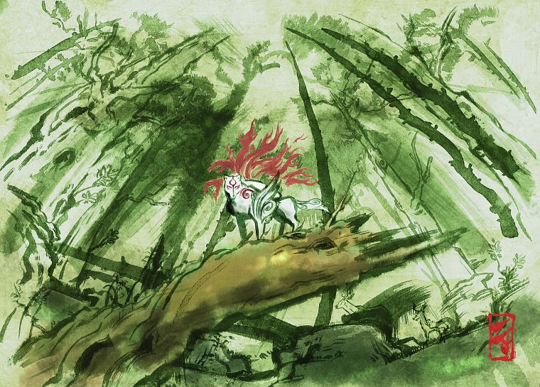 Okami - desktop wallpaper